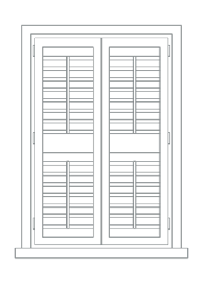 full height shutters main
